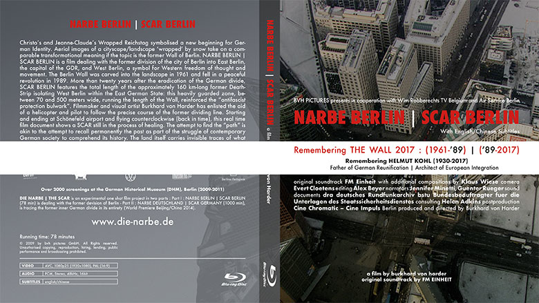 Burkhard von Harder | Blu-ray & STREAMING VIDEO - NARBE BERLIN | SCAR BERLIN